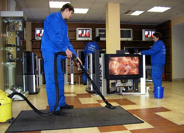 Услуги чистки ковров комерческим организациям