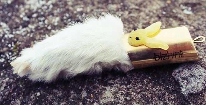 Талисман на удачу - кроличья лапка