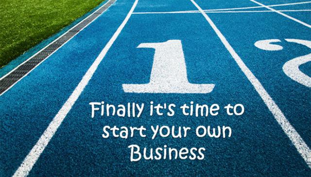 Время начинать собственный бизнес