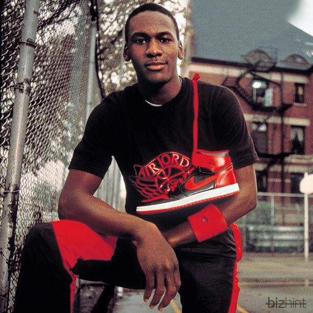 Красно-черные кроссовки Nike Air Jordan