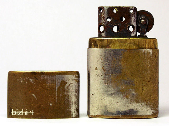 Зажигалка IMCO, послужившая прототипом первой Zippo