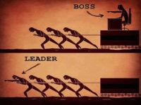 Разница между босом и лидером