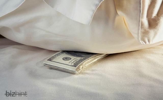 Деньги под подушкой