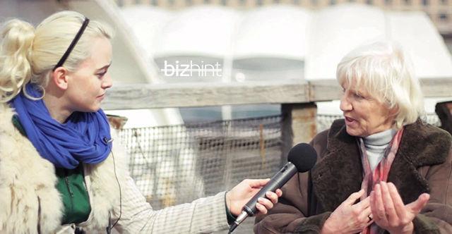 Хайдемари Швермер дает интервью
