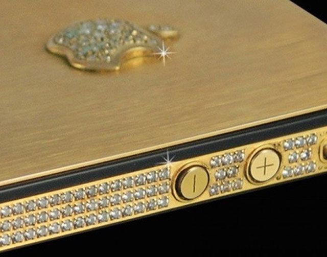Самый дорогой телефон в мире iPhone 5 Black Diamond