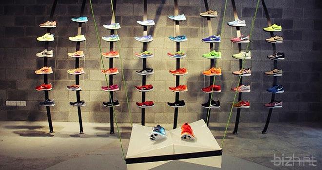 Кроссовки компании Nike в магазине