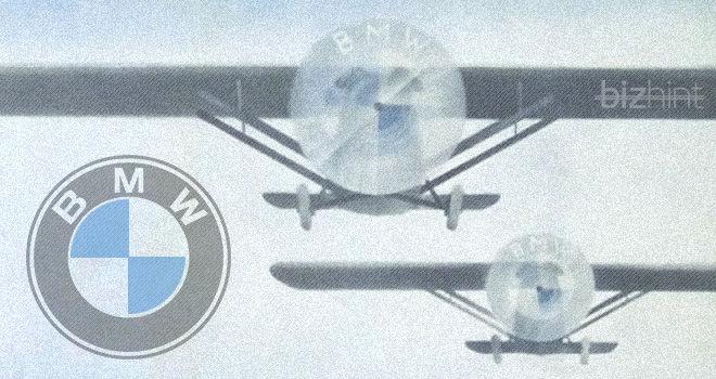 Первое лого BMW