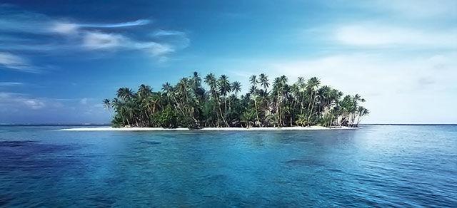 Маленький тропический островок