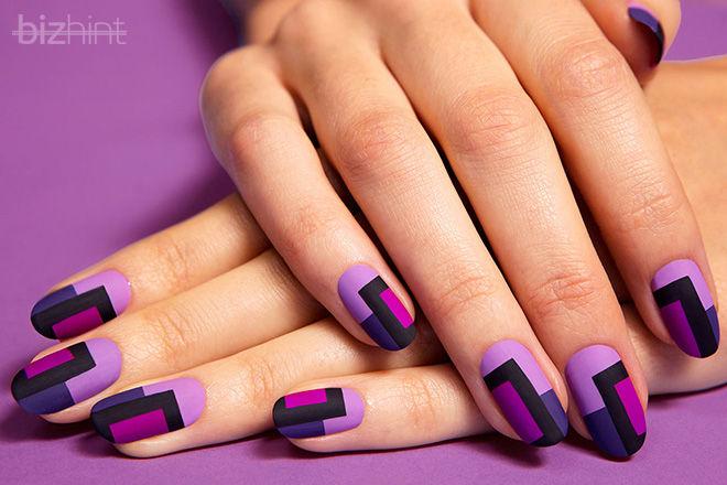 Стильно накрашенные ногти