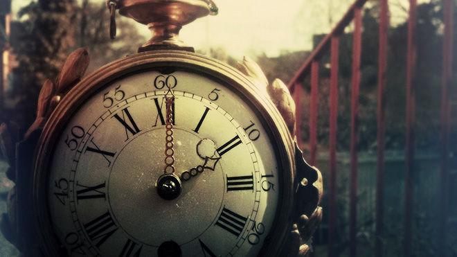 Часы винтажная фота