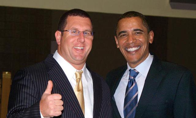 Роберт Шемин и Барак Обама