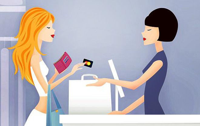 Шопинг с кредитной картой