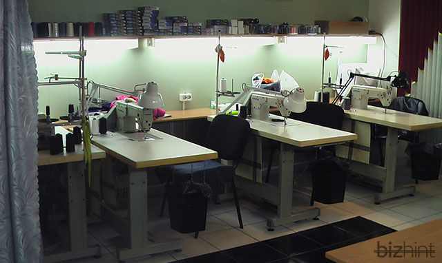 Швейные машинки в ателье