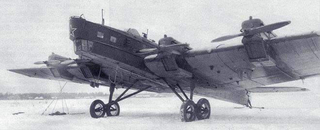 ТБ-3 с двигателем от БМВ