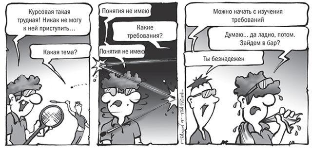 Мини-комикс про прокрастинацию