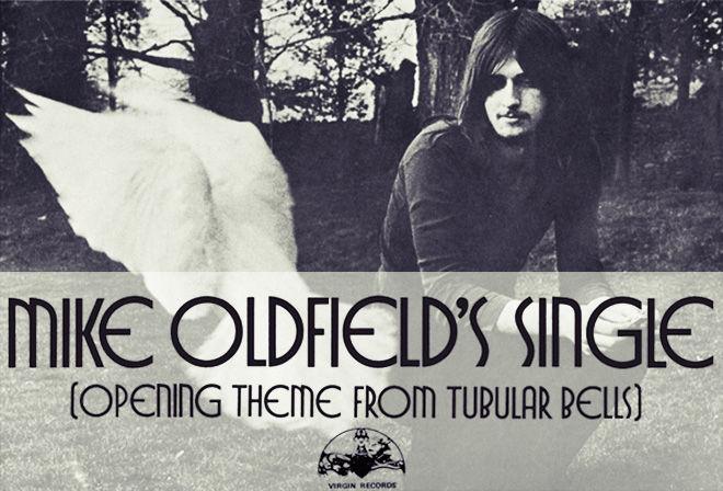 Пластинка Майкла Олдфилда записанная в Virgin Records