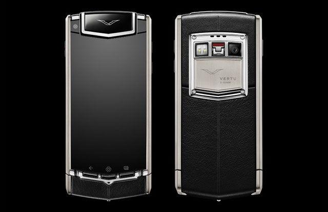 Первый смартфон от Vertu на Anroid