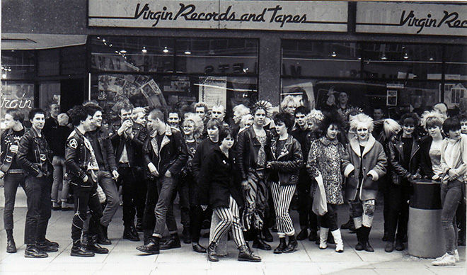 Virgin Records and Tapes Store