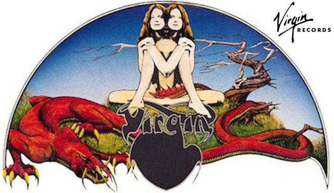 Первый лейбл Virgin Records