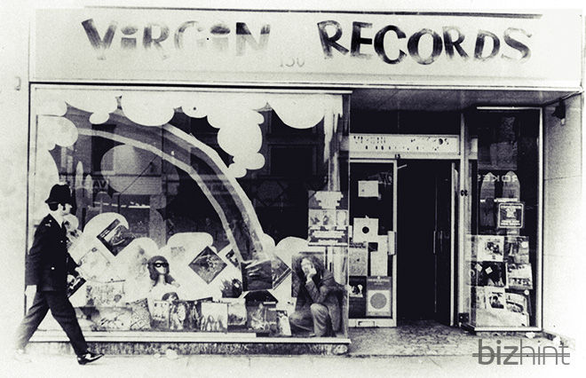 Первый магазин Virgin Records