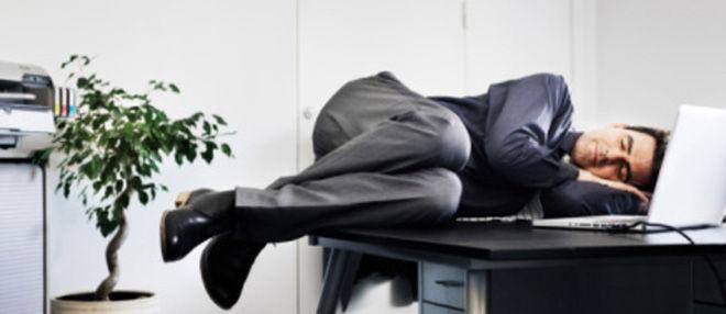 Заснул на рабочем месте