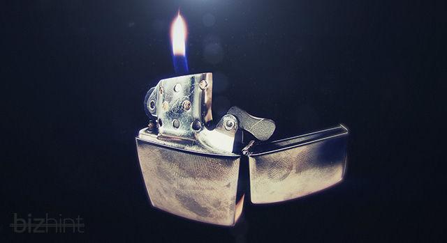 Очень красивое фото зажигалки Zippo