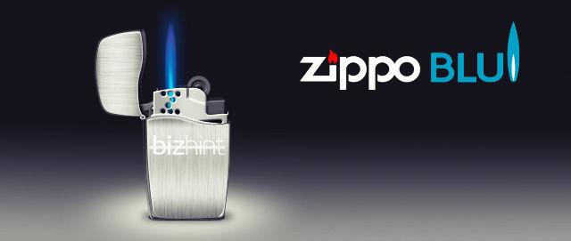 Зажигалка Zippo Blue на газу