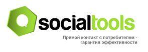 лого и слоган SocialTools