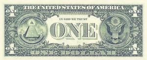 банкнота 1$