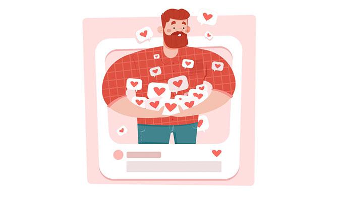 Лайки в социальных сетях