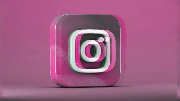 Инстаграм (3D лого)