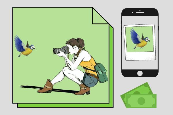 как заработать деньги в интернете школьнику продавать авторские фото